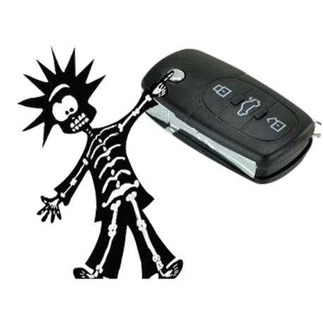 Fausse clé de voiture à décharge électrique électrique électrochoc