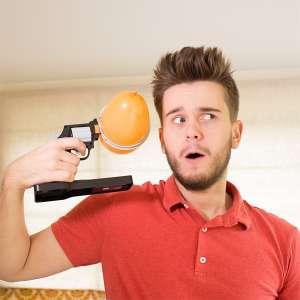 pistolet ballon à eau drole pour jeux de la roueltte russe
