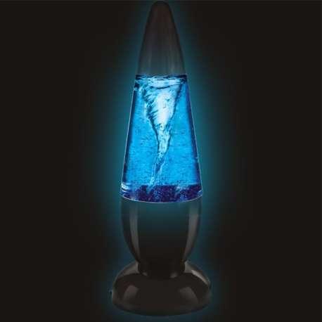 Lampe à éclairage LED effet tornade lampe originale