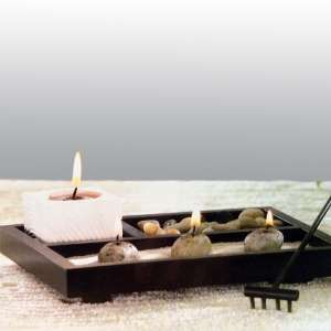 Jardin miniature zen decoration relaxation maison