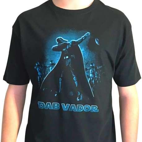 T-Shirt Dab Vador T-Shirt Humoristique Homme dark