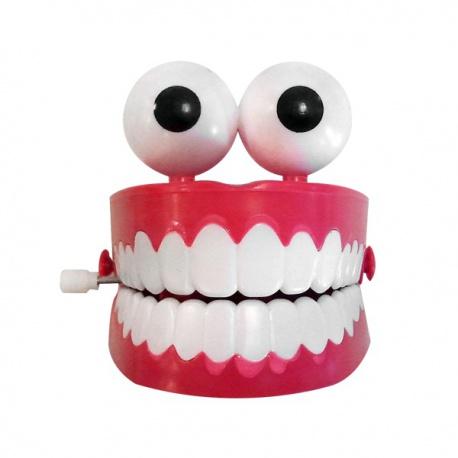 Dentier Sautillant mécanique sauteur à remontoir farce