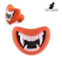 Jouet pour chien en forme de bouche amusante