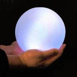 Lampe veilleuse de boule Led Multicolore 18,5 cm