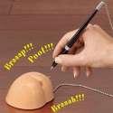 Porte stylo fesses sonore humoristique drole marrant