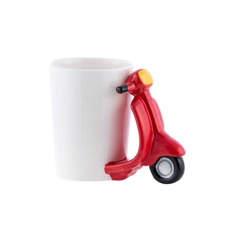 Pour Totalcadeau Vespa Scooter Et Thé Tasse Scoot Mug Café Rétro 45LqR3Aj