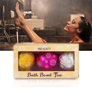3 Boules effervescentes pour le bain parfumées