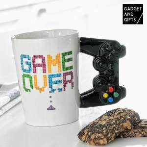 Tasse game over mug anse manette Gaming Style Rétro