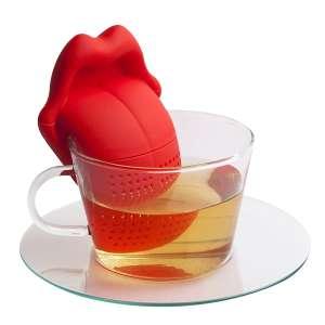 Infuseur à thé en forme de langue