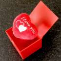Boîte à ressort coeur I Love You