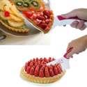 2 en 1 Couteau à pâtisserie et pelle à tarte anti-rayures