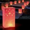 Lanternes en papier pour bougie 10 pièces
