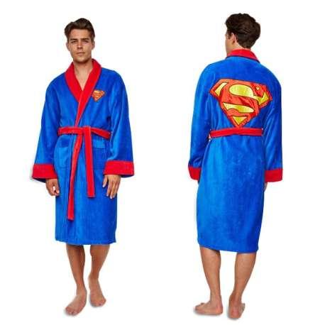 Peignoir costume Superman