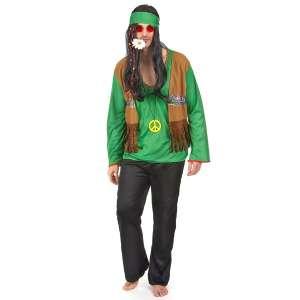 Costume de hippie pour homme déguisement baba cool