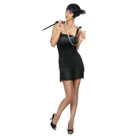 Costume pour femme charleston déguisement cabaret