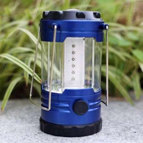Lampe Camping boussole avec luminosité variable