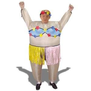 Costume hawaïenne gonflable déguisement danseuse