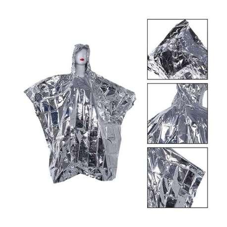 Veste de survie en aluminium pour adulte