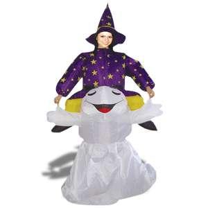 Costume de sorcière gonflable déguisement halloween