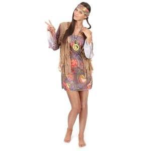 Costume hippie pour femme déguisement baba cool