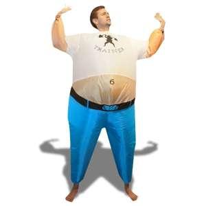 Costume gonflable entraîneur sportif costume