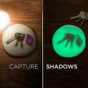 Pate à modeler lumineuse et fluorescente