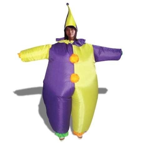 Costume gonflable clown gonflable déguisement