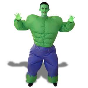 Deguisement Hulk gonflable costume super heros