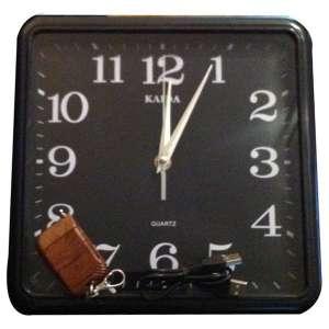 Horloge caméra espion espionnage et mémoire 4 Go