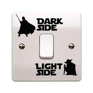 Sticker pour commutateur de lumière Star Wars