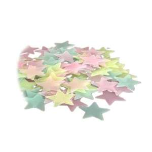 Étoiles Fluorescentes (50 pièces)