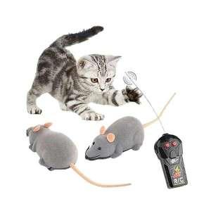 Souris factice télécommandée drôle jouet pour chat ou farce