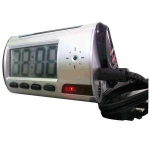 Réveil digital camera espion télécommandé détection mouvement