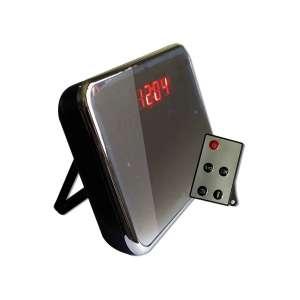 Réveil camera espion effet miroir avec télécommande