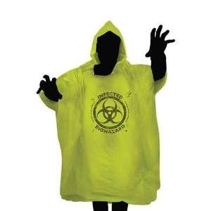 Poncho zombie infected biohazard veste anti pluie