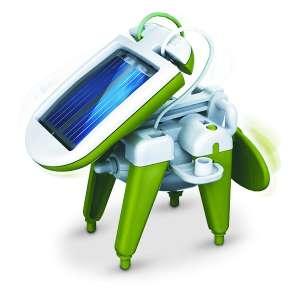 Robot solaire 6 en 1 : bateau à vapeur, moulin à vent, voiture, chie