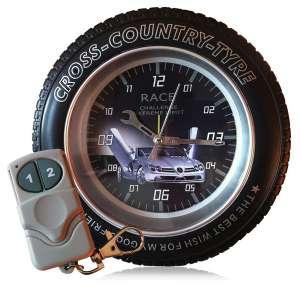 Réveil camera espion roue cross 4Go télécommande commandé