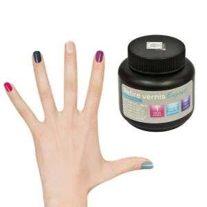 Pot retire vernis à ongles soins manucure des mains