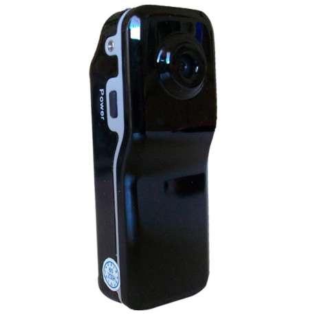 Mini caméscope camera espionnage noir brillant