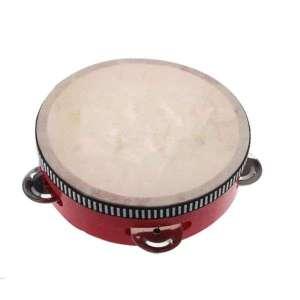 Tambour à cymbales jeu Montessori