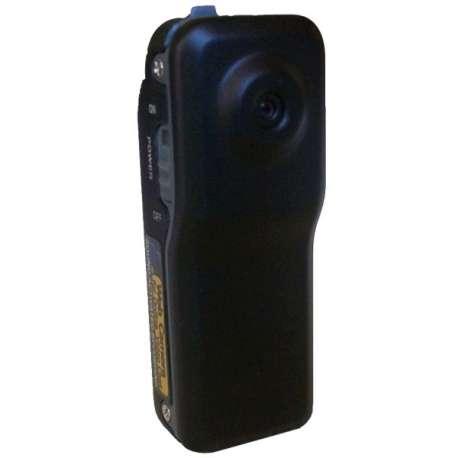 Petite caméra noire mat avec reconnaissance vocale fonction détectio