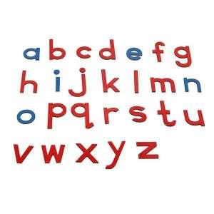 Lettres alphabet en bois apprentissage de l'écriture jeu montessori