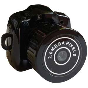 Mini appareil photo camera espion noir micro camera