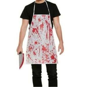 Tablier ensanglanté tablier de cuisine drole déguisement halloween