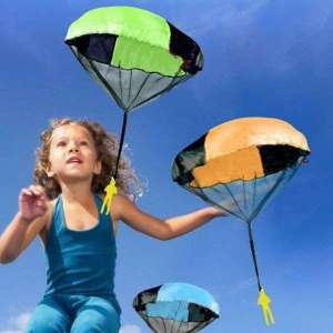 Bonhomme parachutiste jeu enfant