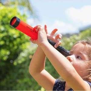 Télescope rétractable pour enfant longue vue