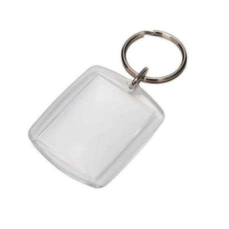 Porte-clés avec porte photo personnalisable