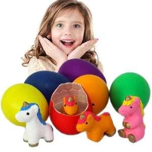 1 Oeuf à éclore licorne jeu enfant