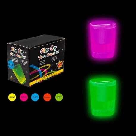 Verres shooters lumineux (2 pièces) Shot LED