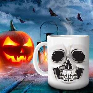 Mug motif tête de mort tasse squelette